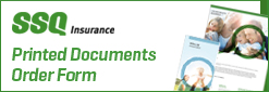 Order Form SSQ Insurance