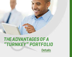 Advantages of turnkey portfolio