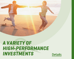 A variety of high-performance investments
